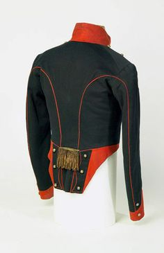 Officer's short-tailed coatee, 8th (King's Royal Irish) Light Dragoons, 1815 (c).