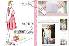 "Bloggeraktion ""Alessa malt Blogger"": Ann-Christin von www.fashion-kitchen.com"