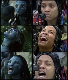 Its amazing how they do it Avatar James Cameron, Avatar Costumes, Green Screen Photography, Monster High Doll Clothes, Avatar Movie, Funny Pix, Movie Facts, Artwork Images, About Time Movie