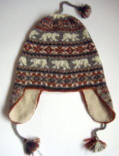 Ravelry: Polar Chullo pattern by Mary Ann Stephens Crochet For Kids, Knit Crochet, Crochet Hats, Stitch Patterns, Knitting Patterns, Crochet Patterns, Knitting Ideas, Knitting Projects, Crochet Projects