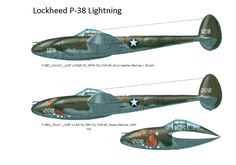 Ww2 Aircraft, Military Aircraft, Scale Models, Lockheed P 38 Lightning, War Thunder, Ww2 Planes, United States Army, Aviation Art, Paint Schemes