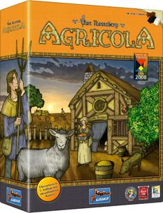 Agricola is a worker placement game. So if someone else takes the Wood spot, you may not be getting any wood this turn. And that means no building fences for animal pens or adding to your wooden house.