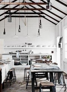 The beautiful, rustic barn conversion at The Estate Trentham.  Photo Lisa Cohen.