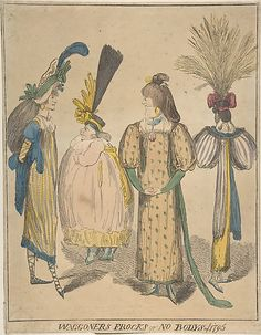Hideous Hats (it's all in the eye of the beholder), via All Things Georgian