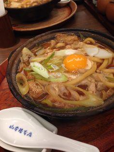 Miso Nikomi Udon from Yamamotoya, Nagoya 味噌煮込みうどん山本屋