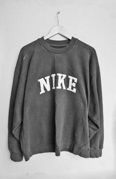 nike grey sweatshirt/jumper