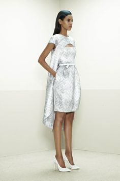 Upgrade the shoes, and I could rule the world in this.   Prabal Gurung (Pre-Fall 2014-2015)
