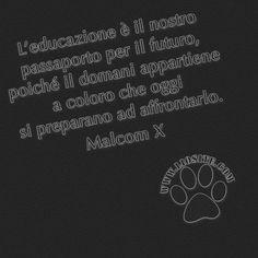 Come non essere d'accordo? L'educazione è il nostro passaporto per il futuro, poiché il domani appartiene a coloro che oggi si preparano ad affrontarlo.  Malcom X  #MalcomX, #educazione, #cultura, #scuola, #futuro, #domani, #liosite, #citazioniItaliane, #frasibelle, #ItalianQuotes, #Sensodellavita, #perledisaggezza, #perledacondividere, #frasimotivazionali, #GraphTag, #ImmaginiParlanti, #citazionifotografiche, #graphicquotes, #graphquotes, #fotocitazioni,