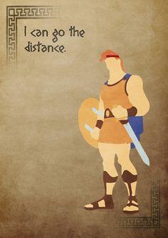 Hercules inspired design (Hercules). #iPhone #Disney #RedBubble