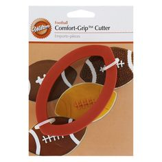 Wilton Football Comfort Grip Cookie Cutters