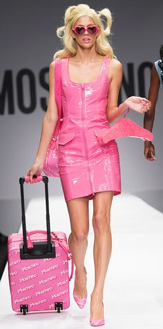Runway Looks We Love: London, Milan, and Paris Fashion Weeks - Spring/Summer 2015 - MOSCHINO #InStyle