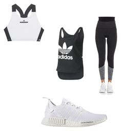 """""""Untitled #78"""" by ana-gabriela02 on Polyvore featuring adidas"""