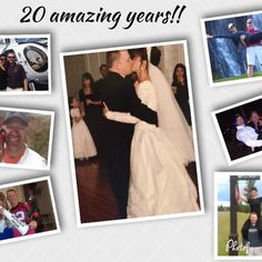Happy 20th anniversary to my best friend love of my life business partner and fun creator! I love going on life's journey with you! Through our ups and downs we always have each other. Thank you for loving me the way you do. I appreciate you so much and I'm grateful for you! I can't believe it's been 20 years!!! Cheers to many many more! #besthubbyever #20yearsstrong #marriedmybestfriend