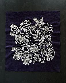 The Beauty of Japanese Embroidery - Embroidery Patterns Sashiko Embroidery, Japanese Embroidery, Hand Embroidery Designs, Embroidery Art, Embroidery Applique, Cross Stitch Embroidery, Embroidery Patterns, Machine Embroidery, White Embroidery