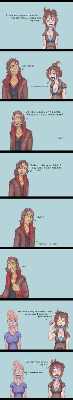 """""""AND that Rumple fans is why no matter how many times you say you'd do/give anything he will never show up....""""~mushi9 on deviantArt #OUAT"""