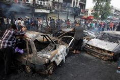 Top News: Powerful Iraqi capital Baghdad car bomb, at least . Car Bomb, One America News, Arab World, Business Magazine, The Washington Post, North Africa, The Guardian, The One, At Least