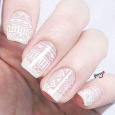 Simple and nice nail style #nail #idea