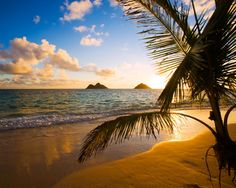 The Mokulua Islands,Lanikai Beach, Oahu ~ Hawaii Dream Vacations, Vacation Spots, Vacation Places, Vacation Ideas, Voyage Hawaii, Kailua Beach, Sunset Beach, Beaches In The World, Hawaiian Islands