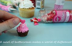 reeses peanut butter cups as miniature cupcakes to go on top of regular cupcakes
