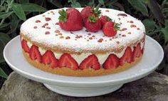 Image result for strawberries and cream
