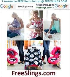 --> http://FREESLINGS.COM nursing covers,pillows,baby stuff,free,coupon code,blankets,carseat cnaopy,baby leggings,baby carriers,slings --> http://FREESLINGS.COM thanks for looking and pins are appreciated :)