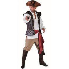 Déguisement pirate des caraïbes homme luxe