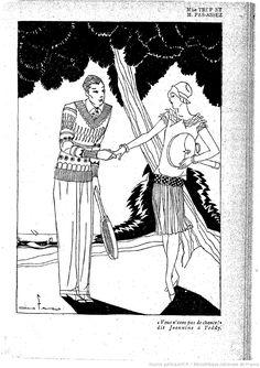 Lectures pour tous : revue universelle et populaire illustrée | 1927-08 | Gallica Art Deco Print, Lectures, Pictogram, Popular, Impressionism