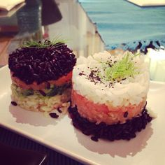 Sushi casalingo My Recipes, Sushi, Cheesecake, Cooking, Desserts, Food, Meal, Cheesecakes, Kochen