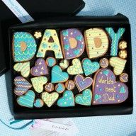Large DADDY Cookie Gift Tin