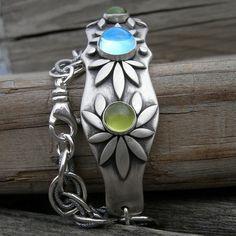 Artio's Awakening Silver Goddess Bracelet Sterling by westbyron, $152.00