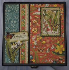 Graphic 45 Nature's Sketchbook Box B top
