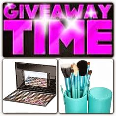Win 88 Color Warm Eyeshadow Palette and 12 Pcs Makeup Brush Kit With Cylinder - 2nd Blogiversary International Giveaway | Sana's Ramblings