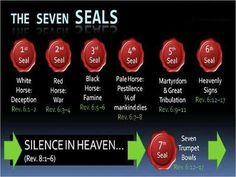 De zeven zegels in het boek Openbaring. The Seven Seals in the book of Revelation. Bible Study Notebook, Bible Study Tools, Scripture Study, Revelation Bible Study, Beautiful Words, The Seventh Seal, Religion Catolica, Bible Knowledge, Bible Studies
