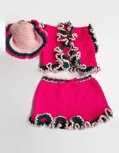 8335c310cc30c Ravelry  Toddler cowgirl Costumes pattern by Wanetta Cavanaugh Toddler  Cowgirl