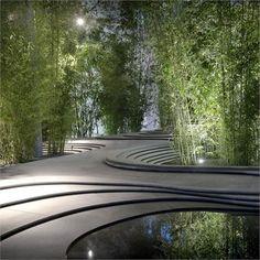 #Kengo Kuma in Milan, #zen #garden#