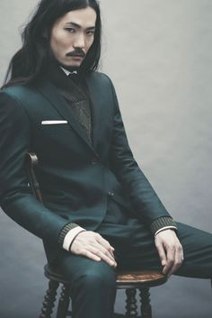 Ozwald Boateng AW 2012  i have no words.                                                                                                                                                                                 More