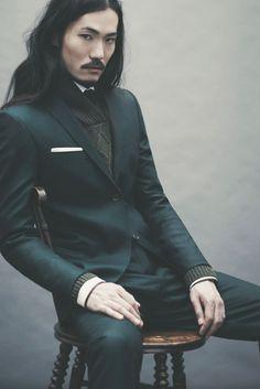 Nouveau business titan of the Orient sharpish!