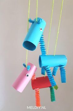 Diy For Kids, Cool Kids, Crafts For Kids, Diy And Crafts, Arts And Crafts, Paper Crafts, Diy Girlande, Baby Makes, Creative Kids