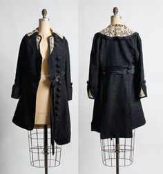 Gorgeous Antique Coat in Pristine Condition. early by VeraVague