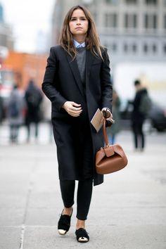 Look boyish : les plus beaux looks masculins féminins repérés dans la rue - Elle