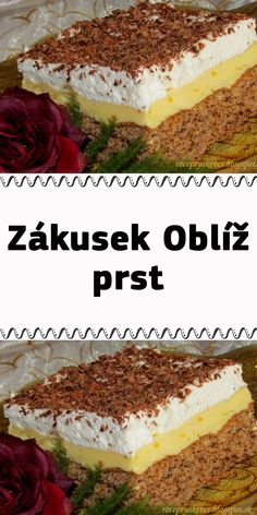 Zákusek Oblíž prst Czech Recipes, Ethnic Recipes, Tiramisu, Cooking, Food, Kitchen, Essen, Meals, Tiramisu Cake