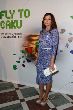 Mehriban Aliyeva of Azerbaijan [Most Fashionable First Lady of All Time]