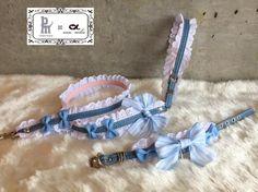 【楽天市場】babymary × accu milia コラボ デニムコットンイライザカラー(LL)【小型犬 カラー 首輪 セレブ/ 送料無料】:TIARA PETS
