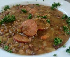 Rezept Thermimaus´Linsensuppe ohne Einweichen für TM 5 von Thermimaus - Rezept der Kategorie Suppen