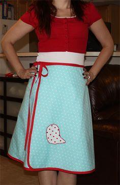 Cute Wrap Skirt