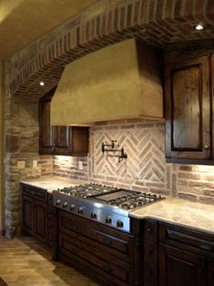 backsplash @Lori Bearden Bearden Bearden Carter. Lori - just working on your kitchen design board! Thought the tilework here (this is only a pin for the fancy herringbone tilework, nothing else) was gorgeous!