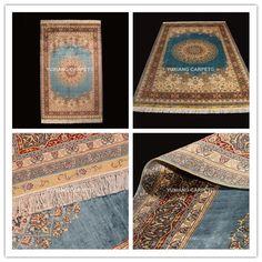 Nanyang Yuxiang Co. China's largest manufacturer of handmade silk carpet. Persian Carpet, Persian Rug, Oriental Rug, Knot, Chinese, Silk, Rugs, Handmade, Design