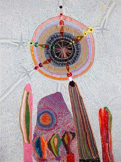 Del Kathryn Barton (b. 1972 Australia): Flatrock, 2009 Acrylic on canvas Del Kathryn Barton, Aboriginal Artwork, Aboriginal Artists, Australian Painting, Australian Artists, Sketchbook Inspiration, Creative Inspiration, Kunst Der Aborigines, Cobra Art