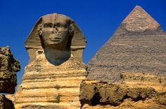Visit the Egyptian pyramids. I am fascinated by Egyptian times!
