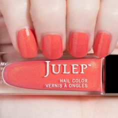 Julep - Signe - It Girl - Red-Hot Coral Shimmer
